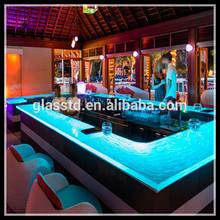 Luxury restaurant bar counter tops/modern table bar