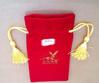 velvet gift bag with tassel