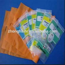 custom printed zip lock plastic bags