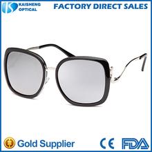 italian eyewear ce uv400 protection double frame silhouette sunglasses oculos de sol