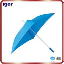 8k aluminium shaft fibreglass ribs silver colour - EVA designed handle polyester-pongee fabric square general straight umbrella