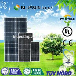 2014 Bluesun high effecency best quantity mitsubishi solar panels made in china