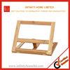 Hands Free Folding Adjustable Wooden Cookbook Holder Bookrest