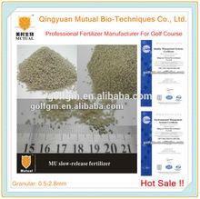 Slow release fertilizer(19-2-19+46%mu) for golf turf Green and Fairway,npk fertilizer