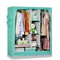 home móveis quarto armário de armazenamento design dobrável não tecido wardrobe