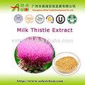 الجملة مسحوق الحليب الشوك استخراج سيليمارين silybin،
