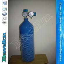 1L oxygen gas cylinder used