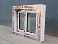 variedade de pvc série usado janelas e portas