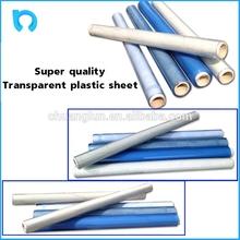 transparent impact printable rigid clear pvc plastic sheet