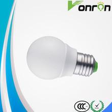 6500k plastic 3w led bulb/led bulb light