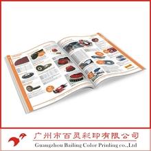 A4 color printed advertising catalogue printing