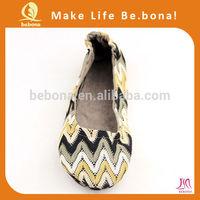 2014 hot sale OEM flat fold up shoes ladies khussa shoes