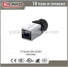 Oferta melhor preço industrial rj45 cat5e 8 pino conector rj45