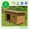 Flate Roof Wooden Dog Kennel Wholesale DXDH001