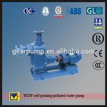 top china pump manufacturer WZW series marine and river dredge pump