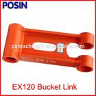 Hitachi Excavator Spare Parts of EX120 Bucket Link/ EX120 Excavator H Link