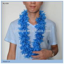 Custom Country Flag Color Hawaii Flower Lei