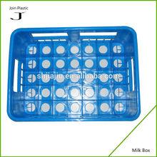 OEM custom High quality plastic Milk crate manufacturer