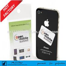 factory price custom microfiber sticky mobile phone screen cleaner