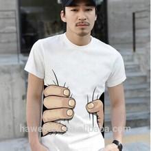 2014 Wholesale Custom Sale,Fashion Style Novel Design Printing T-shirt,