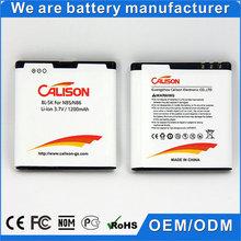 hot sale low price bl-5k battery for nokia n85 n86 3.7v li-ion mobile phone battery