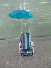 fishing umbrella with chair
