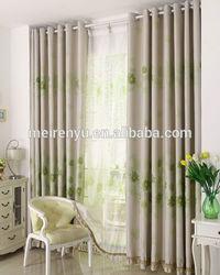 Modern&Minimalism curtain please the eye iridescent fabric printed window curtain
