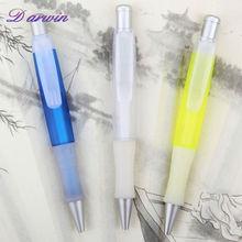 Wholesale retractable rubber grip small ballpoint pen