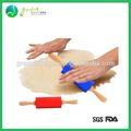 Farinha rolling pin, farinha de silicone rolling pin, farinha de rolamento do pino para o cozimento