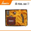 stainless steel hip flask set with multiple accessories to keep jack daniel liquor