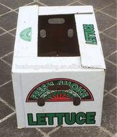 Die-cut Cardboard box for fruit and vegetable