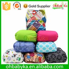 Ohbabyka Baby Washable and Waterproof newborn cloth diaper cover