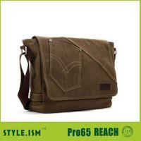 promotional messenger bag/canvas bag for men