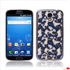 Hot sell beautiful design butterfly pattern flexible PC case cover for samsung galaxy S4 i9500 cell phone