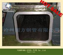 Di grande diametro tubo quadrato di acciaio/150*150 vasche quadrate