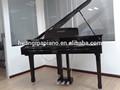 مفاتيح البيانو الرقمية مصنع 88 لمس مطرقة ميدي لوحة المفاتيح الرقمية بيانو أسود البولندية hd-w086 سعر huangma اطفال بيانو