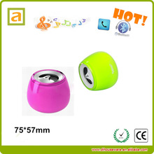 2014 new speaker, round shaped speaker with sound control