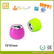 2014 new speaker, round shaped speaker with sound control