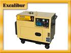 5kw air cooled slient diesel generador S6500DS(E)