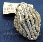 2014 FuYuan fashion finger ring for women fashion half finger rings funny & funky finger ring, FYR6611