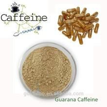 Pure guarana seeds extract 20%Caffeine powder