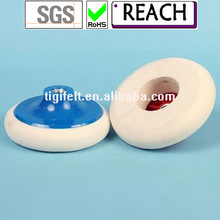 excellent abrasion resistance Polishing felt wheels with M14 fastening / ROSH test passed
