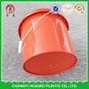 Customized plastic 10 gallon plastic bucket