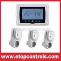 Inalámbrico RF termostato de ambiente