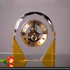 Optical k9 crystal clock decoration (BT-2092)