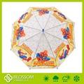 Auto aberto reta guarda-chuva poe eco- amigável material aranha- homem projeto dos desenhos animados
