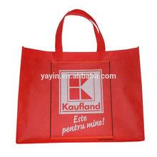 Customized non woven supermarket promotion bag/Supermarket carry shopping bag