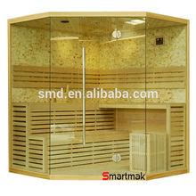 5-6 person luxury finland steam sauna house, traditional steam sauna cabin,home steam sauna room
