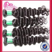virgin Indian hair deep wave complete indian human hair