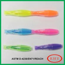 Multi-function Colorful Bowling Shape Mini Permanent Pen